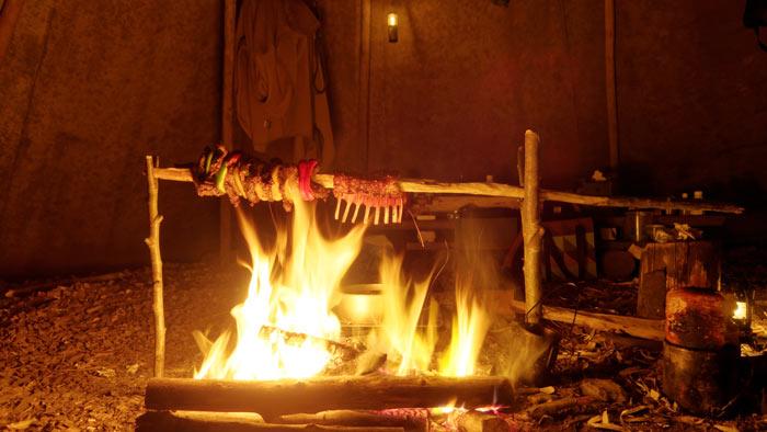 cooking-inside-teepee